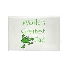 Greatest Dad Rectangle Magnet