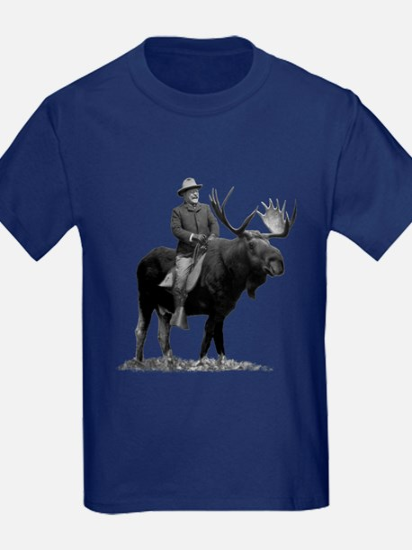 Teddy Roosevelt on Bullmoose T-Shirt