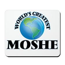 World's Greatest Moshe Mousepad