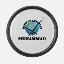 World's Greatest Muhammad Large Wall Clock