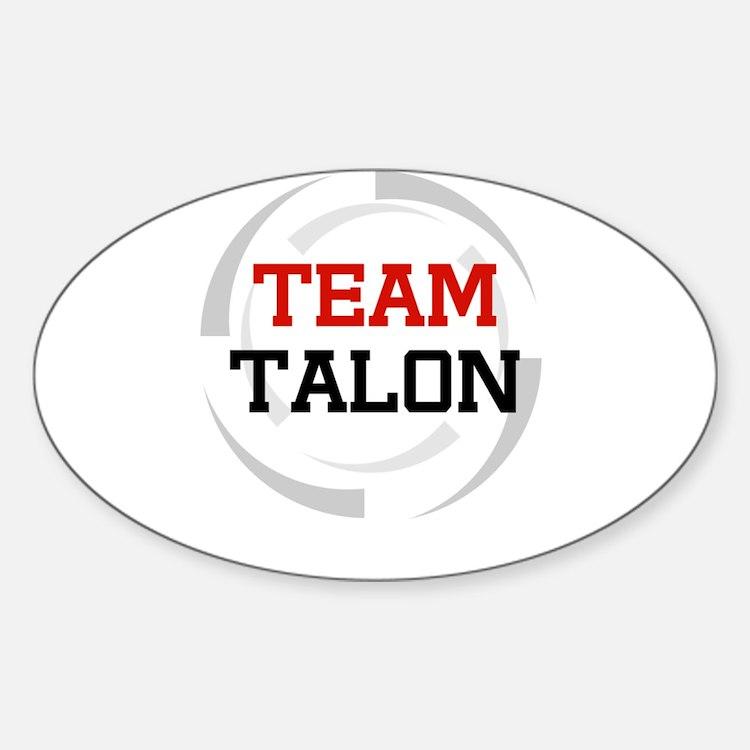 Talon Oval Decal