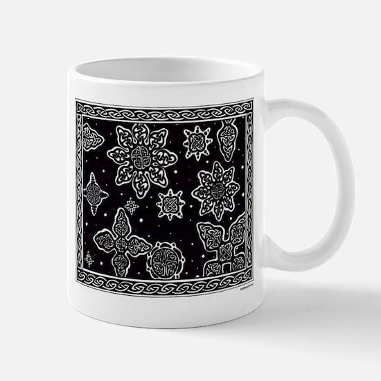Celtic Snowflakes Mugs
