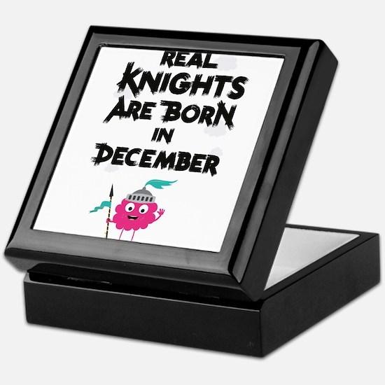 Monster Knights born in December Keepsake Box