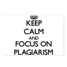 Keep Calm and focus on Pl Postcards (Package of 8)