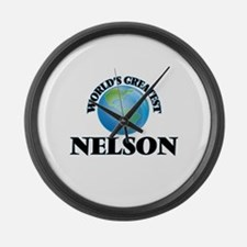 World's Greatest Nelson Large Wall Clock