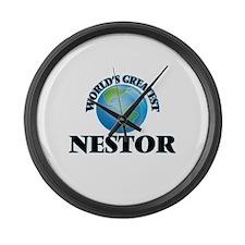 World's Greatest Nestor Large Wall Clock