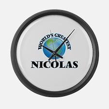 World's Greatest Nicolas Large Wall Clock