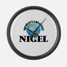 World's Greatest Nigel Large Wall Clock