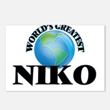 World's Greatest Niko Postcards (Package of 8)