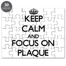 Keep Calm and focus on Plaque Puzzle