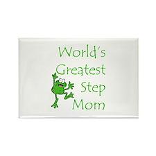 Greatest Stepmom Rectangle Magnet