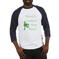 Greatest Stepmom Baseball Jersey