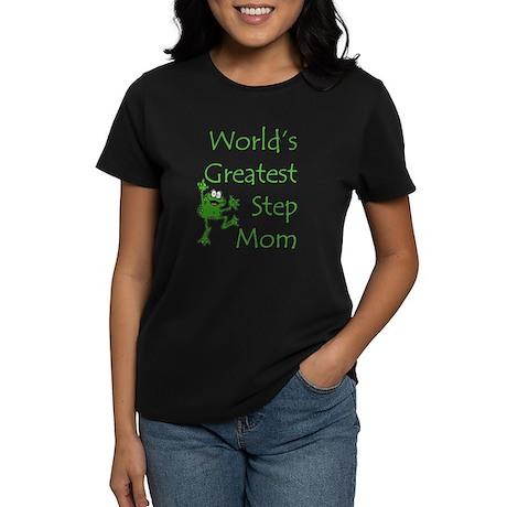 Greatest Stepmom Women's Dark T-Shirt