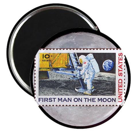 Apollo 11 on the Moon Magnet Christmas gift