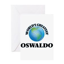 World's Greatest Oswaldo Greeting Cards