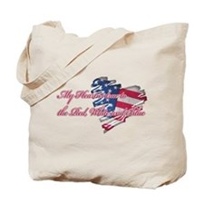 My Heart is True to the Red,  Tote Bag
