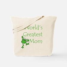 Greatest Mom Tote Bag