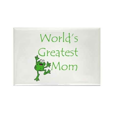 Greatest Mom Rectangle Magnet (100 pack)