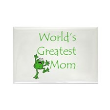 Greatest Mom Rectangle Magnet