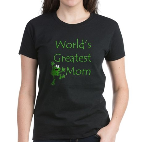 Greatest Mom Women's Dark T-Shirt