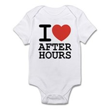 I love after hours Infant Creeper