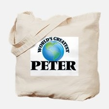 World's Greatest Peter Tote Bag