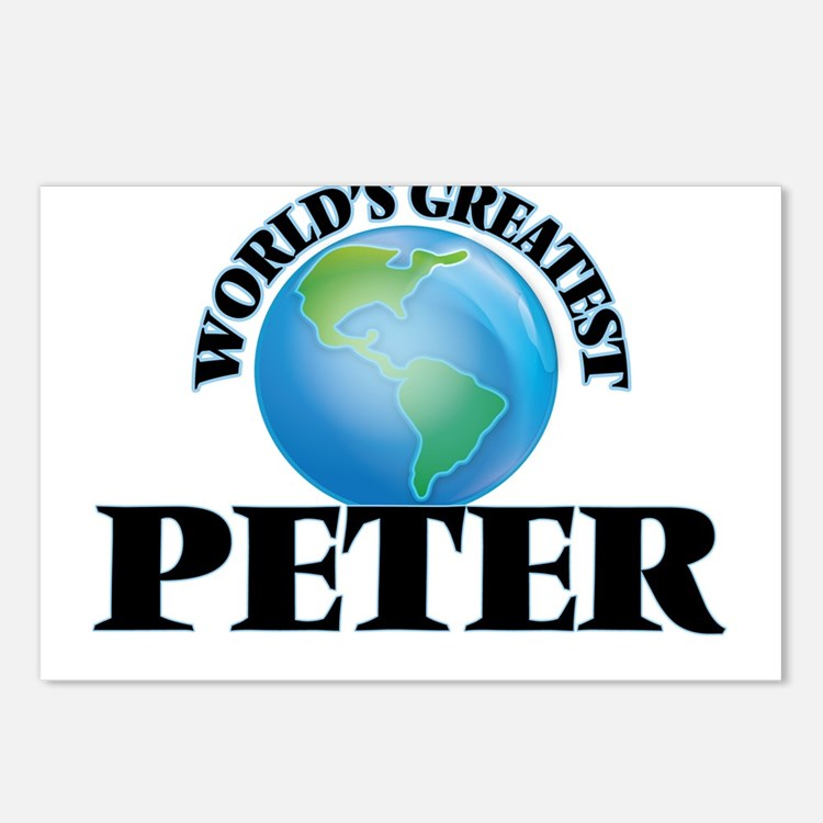 World's Greatest Peter Postcards (Package of 8)