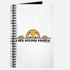 I See Stupid People Funny Journal