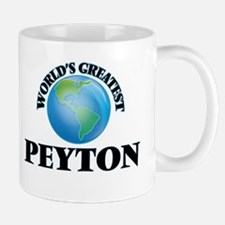 World's Greatest Peyton Mugs