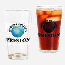World's Greatest Preston Drinking Glass