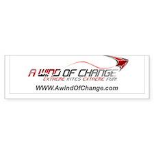 A Wind Of Change Logo Bumper Bumper Sticker