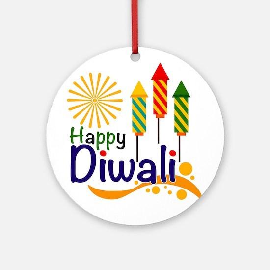 Diwali Round Ornament