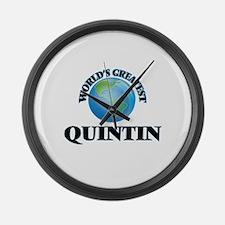 World's Greatest Quintin Large Wall Clock