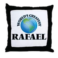 World's Greatest Rafael Throw Pillow