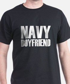 Navy Boyfriend Steel T-Shirt