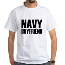 Navy Boyfriend Steel Shirt