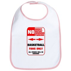 NO PARKING Basketball Sign Bib