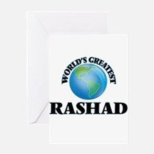 World's Greatest Rashad Greeting Cards