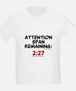 Short Attention Span Humor Saying T-Shirt