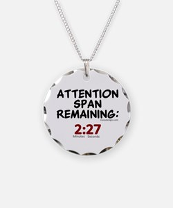 Short Attention Span Humor S Necklace