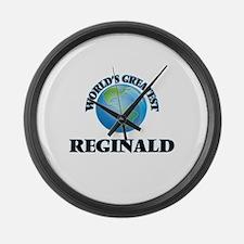 World's Greatest Reginald Large Wall Clock