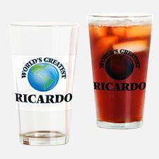 World's Greatest Ricardo Drinking Glass