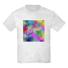 Thespian on Rainbow T-Shirt