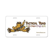 Tactical Toad Aluminum License Plate