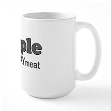 scrapple gray meat Mug