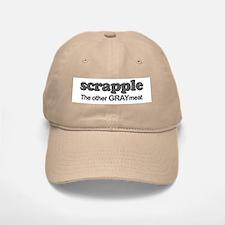scrapple gray meat Baseball Baseball Cap
