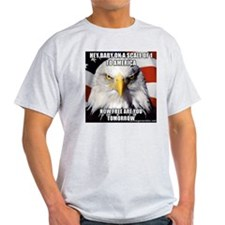 Funny joke with Eagle T-Shirt