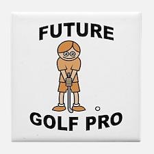 Future Golf Pro (Boy) Tile Coaster