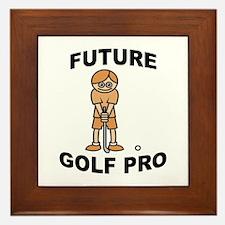 Future Golf Pro (Boy) Framed Tile
