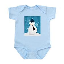 Christmas Snowman - Infant Creeper